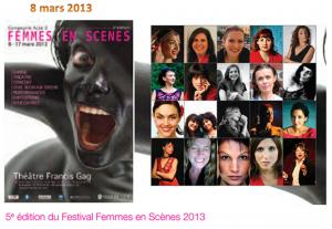 Festival Femmes en scènes Nice avec Marie-Pierre Genovese