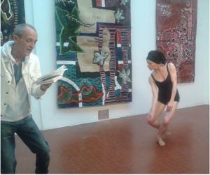 Marie-Pierre Genovese et Jacques Fenouillet à l'Atelier 17 Nice