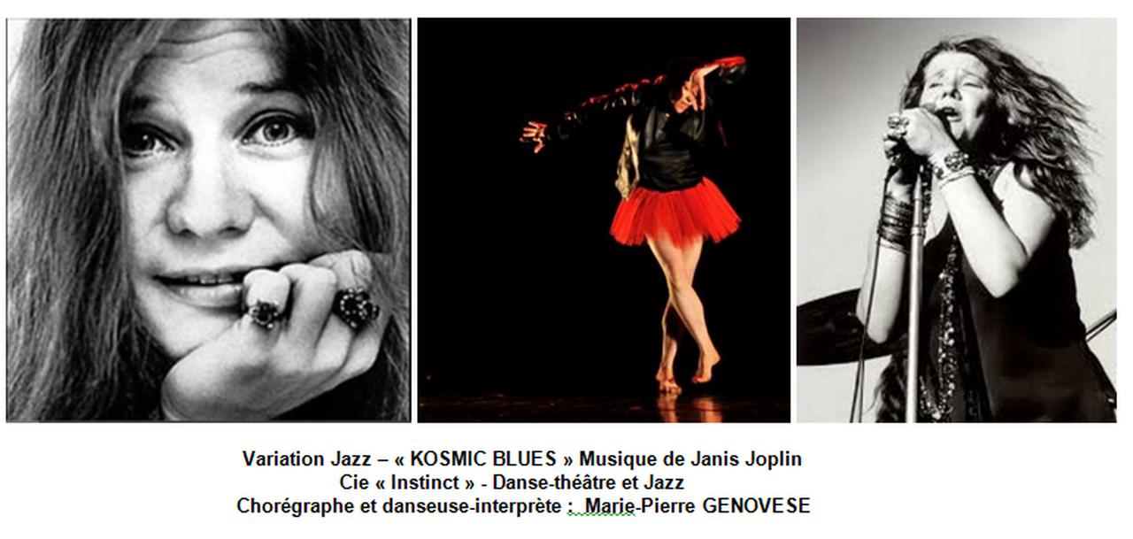 Variation jazz Kosmic blues avec Marie-Pierre Genovese