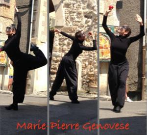 Dance in Biot et Marie-Pierre Genovese