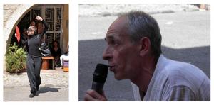 Marie-Pierre Genovese et Dance in Biot