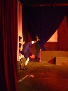 Danse théâtre La nuit remue avec Marie-Pierre Genovese
