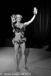Danse théâtre Le grand voyage avec Marie-Pierre Genovese