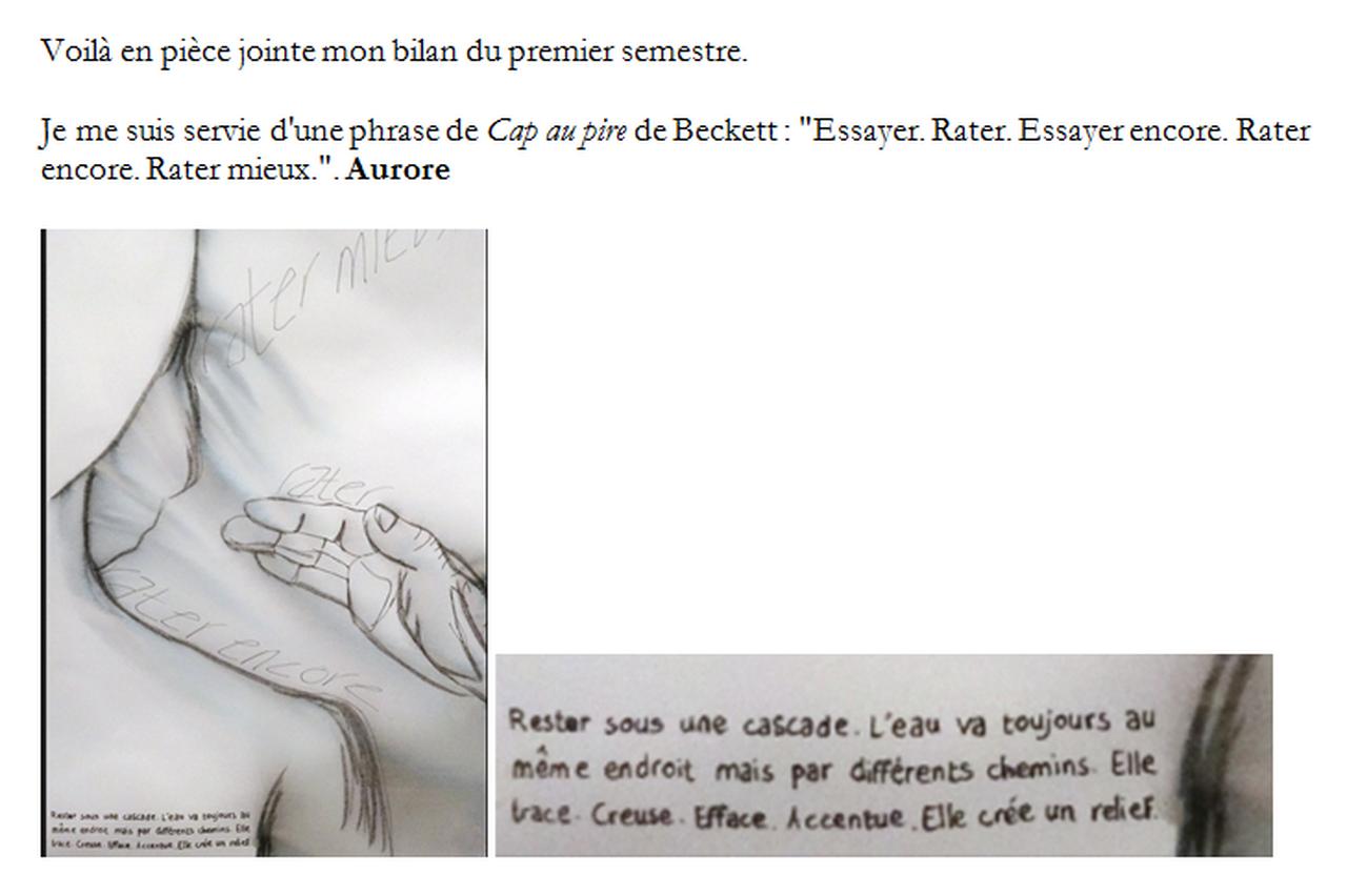 Marie-Pierre Genovese et Aurore et Fac