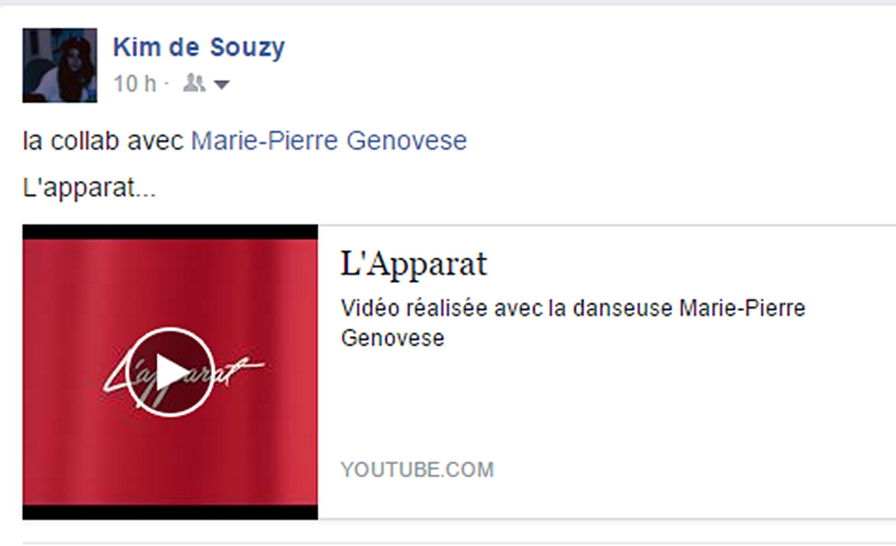 Marie-Pierre Genovese et Kim de Souzy