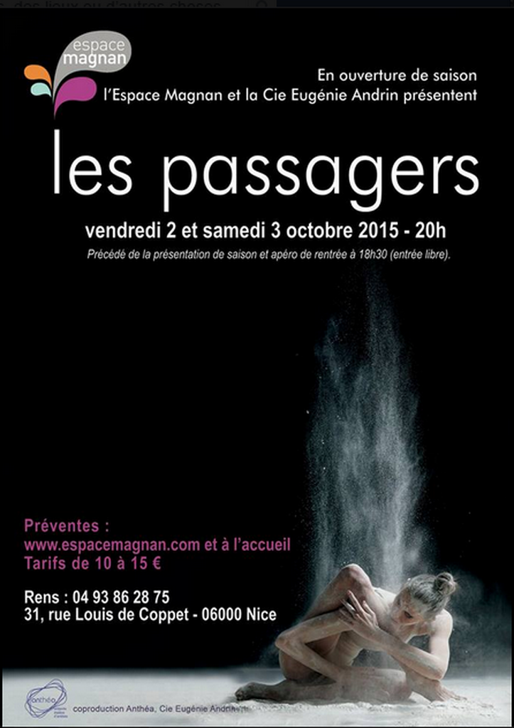 Marie-Pierre Genovese Les Passagers Magnan