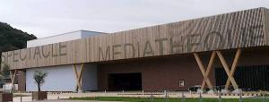 Marie-Pierre Genovese à la médiathèque de Villeneuve-Loubet