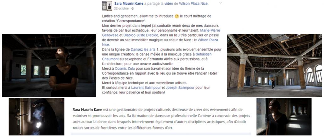 Marie-Pierre Genovese dans Correspondance