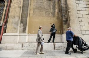 Marie-Pierre Genovese en mode street