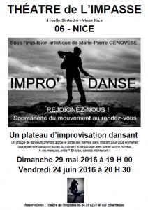 Marie-Pierre Genovese en improvisation