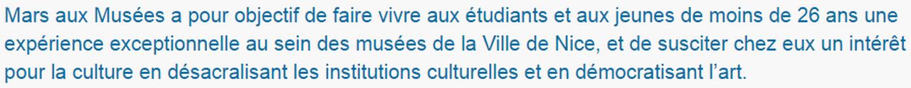 Marie-Pierre Genovese et com mars aux musées