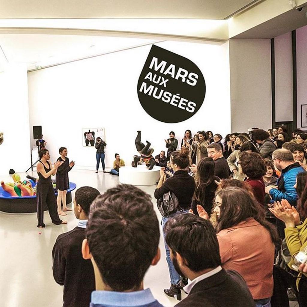 Marie-Pierre Genovese et photos mars aux musées