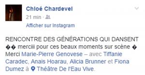 Marie-Pierre Genovese et générations