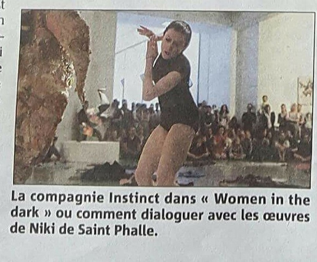 Marie-Pierre Genovese et com Women in the dark