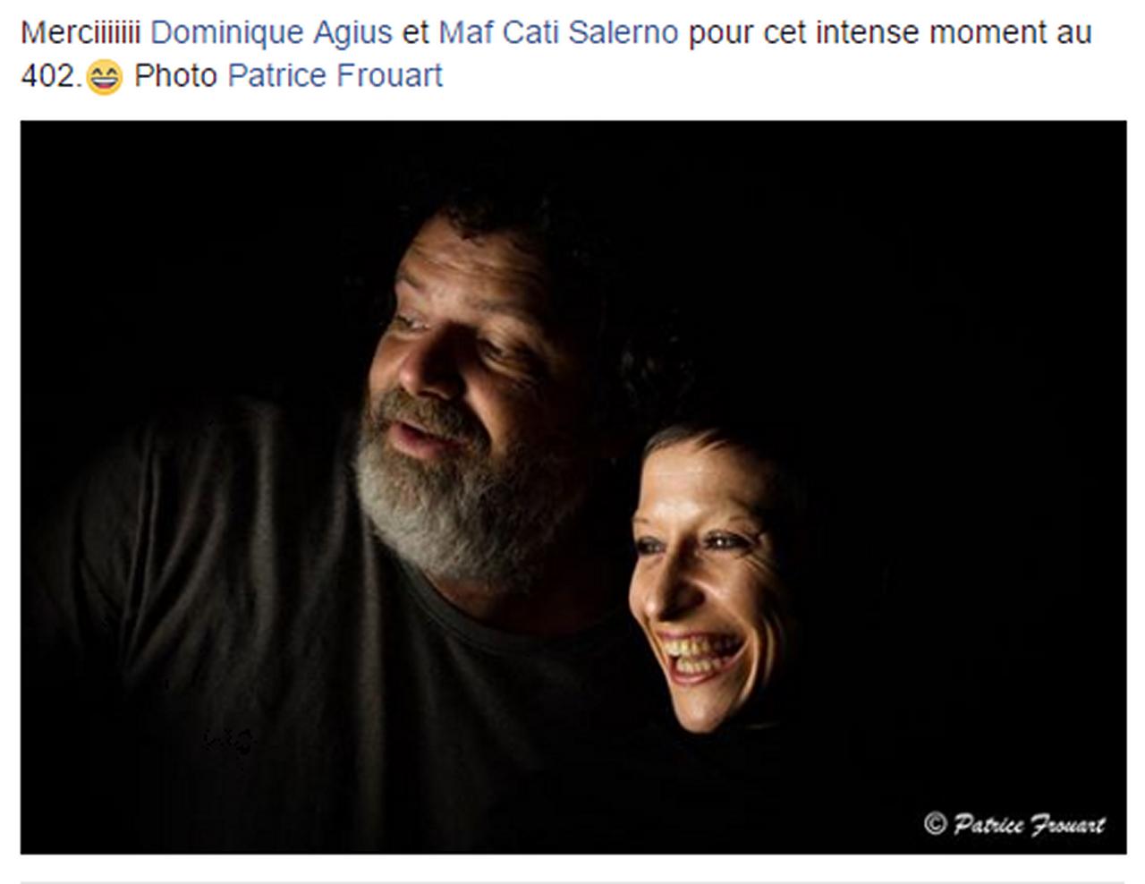 Marie-Pierre Genovese et Narcisse autres commentaires