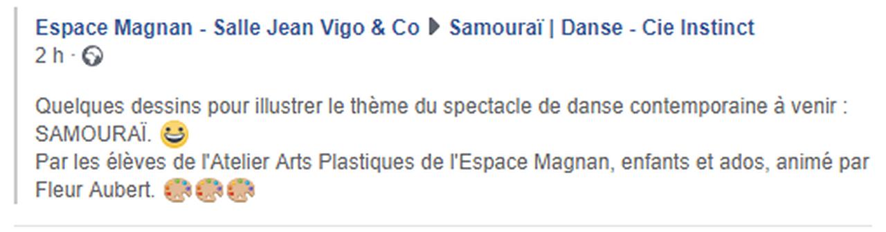 Marie-Pierre Genovese et dessins Samouraï