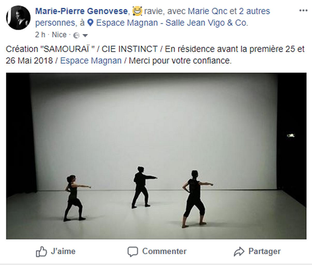 Marie-Pierre Genovese et divers Samouraï