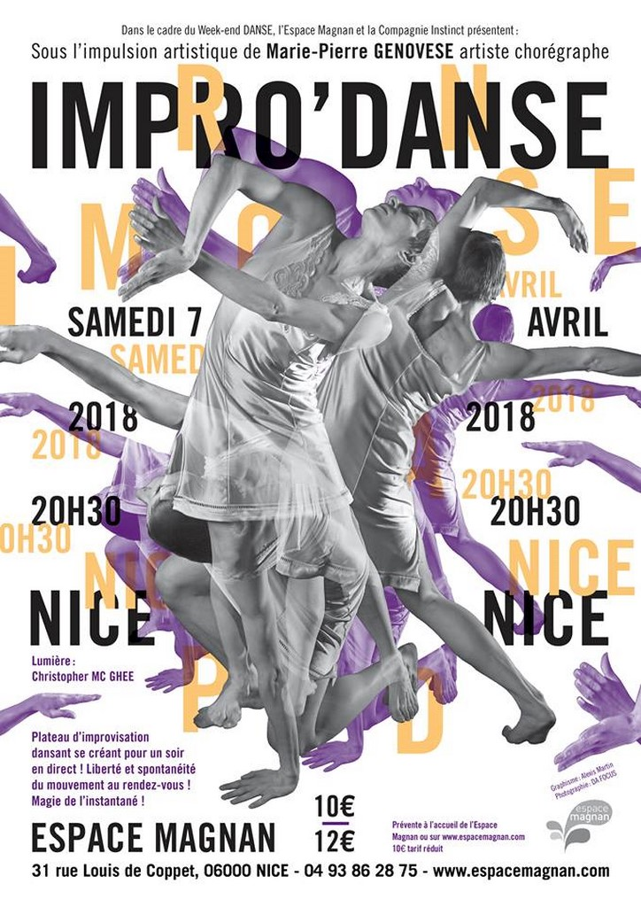 Marie-Pierre Genovese et Impro'Danse Com