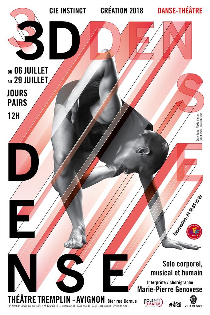 Marie-Pierre Genovese Off Avignon affiche
