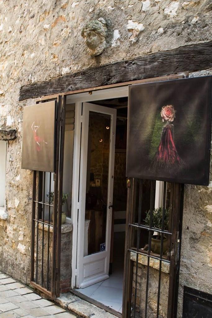 Marie-Pierre Genovese et Artchange boutique