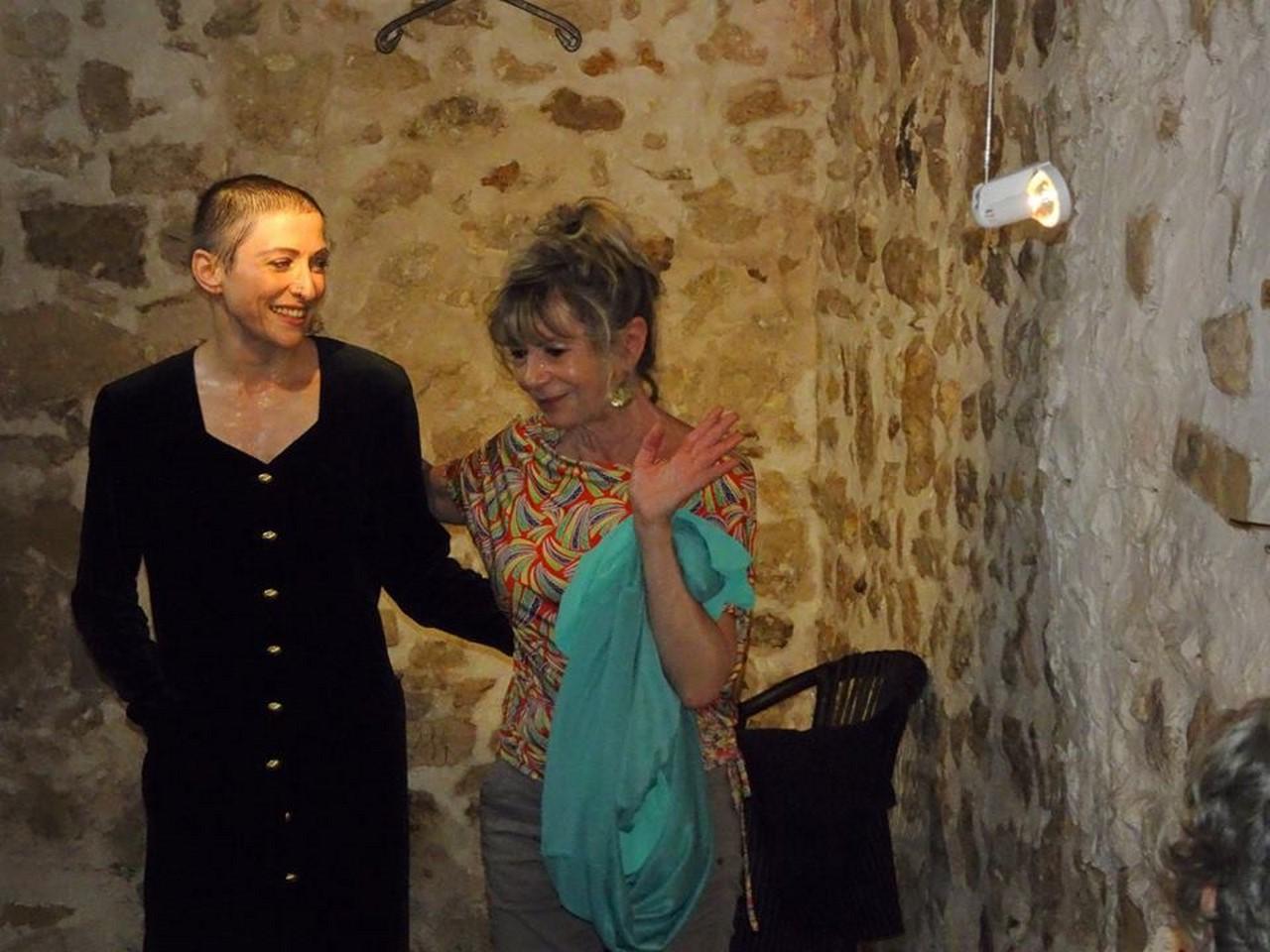 Marie-Pierre Genovese et Artchange Chantal Moraine