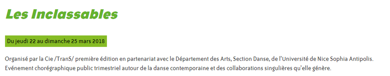 Marie-Pierre Genovese à L'Entre-Pont Issue