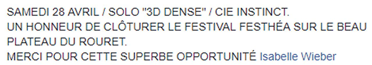 Marie-Pierre Genovese au Théâtre du Rouret