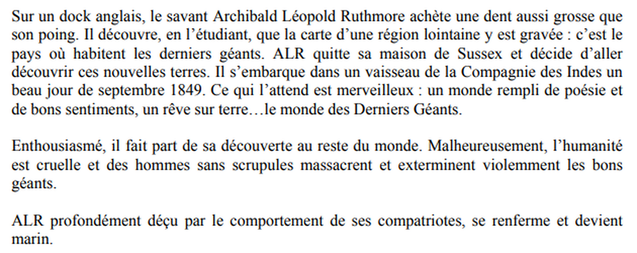 Marie-Pierre Genovese et les Derniers Géants