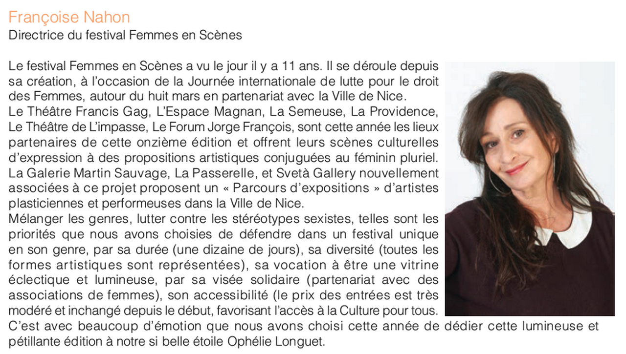 Marie-Pierre Genovese ANDC-FES Introduction