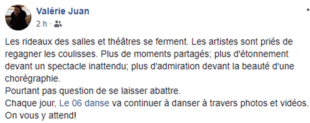 Marie-Pierre Genovese Confinement Valérie Juan