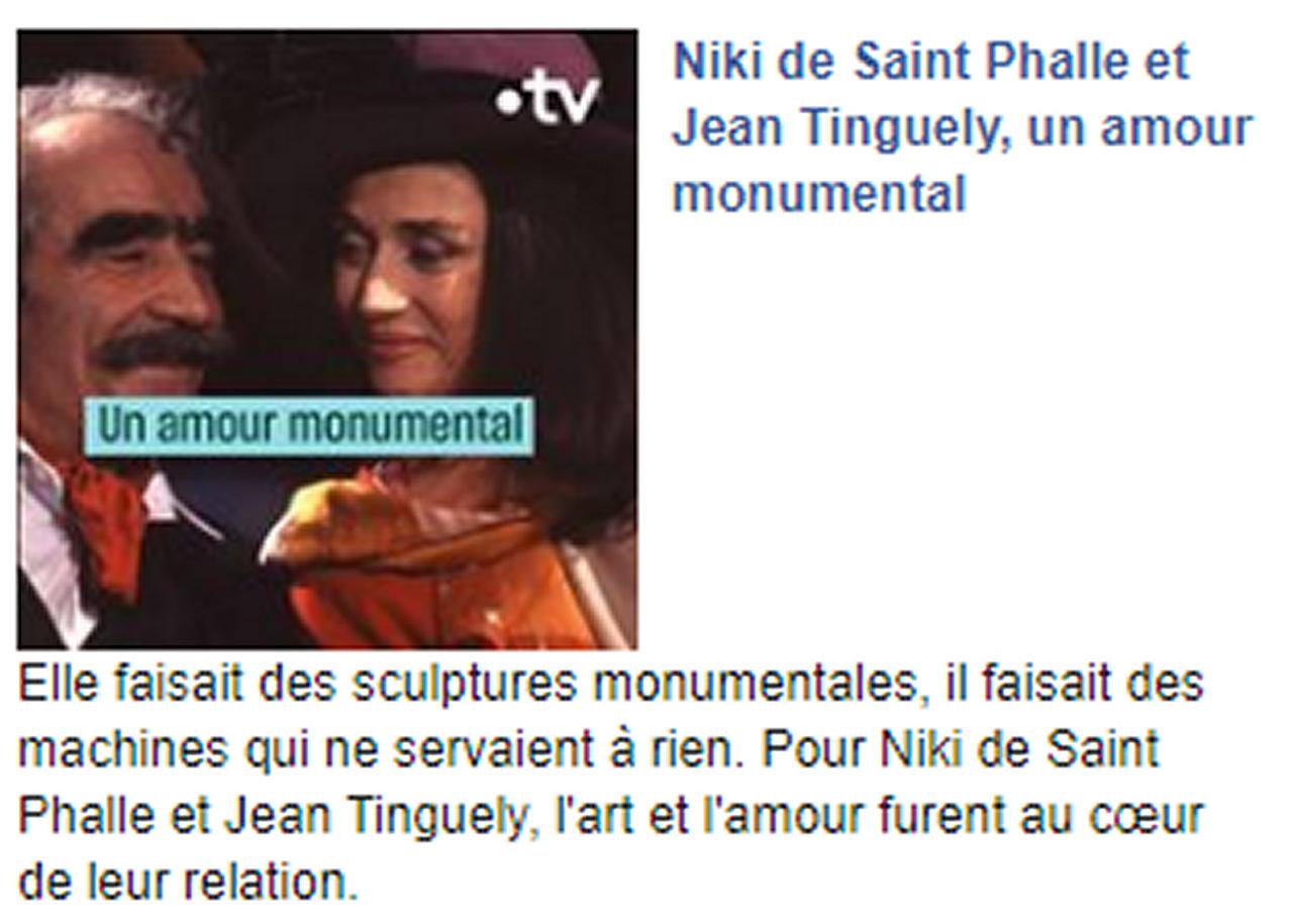 Marie-Pierre Genovese Mamac Niki et Tinguely